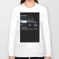 mustang Long Sleeve T-shirts featuring MUSTANG by David Bascuñana