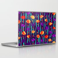 psychadelic Laptop & iPad Skins featuring Psychadelic Natural Pattern #3 by Andrej Balaz