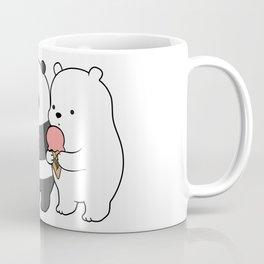 Baby Bears Eating Some Ice Cream Coffee Mug
