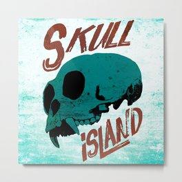 Skull Island Metal Print