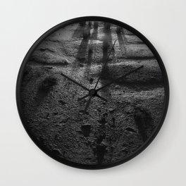 Sombra marinera Wall Clock