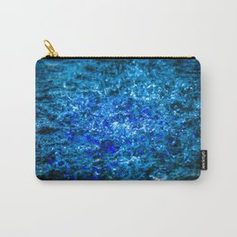 Water Color - Dark Blue - Navy Carry-All Pouch