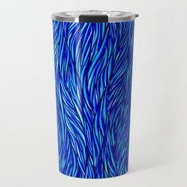 Blue Fur Travel Mug