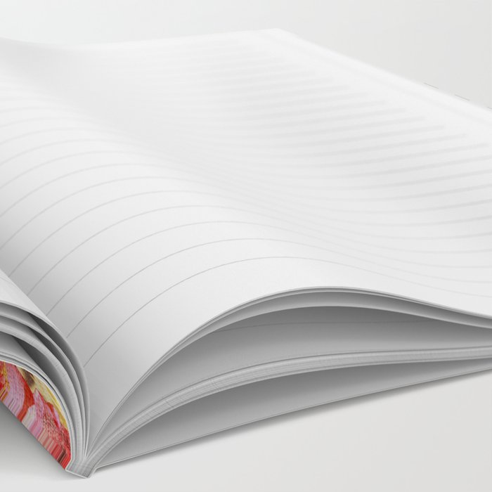 Chevron Flora II Notebook