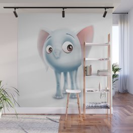Baby Elephant Wall Mural