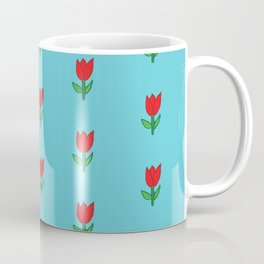 flowers are red Coffee Mug