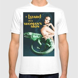 A Lizard in a Woman's skin, vintage horror movie poster T-shirt