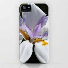 """Iris, Goddess of the Rainbow (i)"" by ICA PAVON iPhone Case"