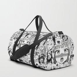 Ahegao classic Duffle Bag