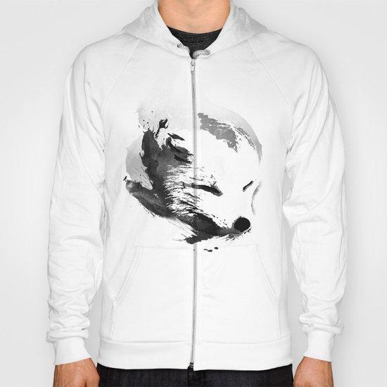 White Fox Hoody