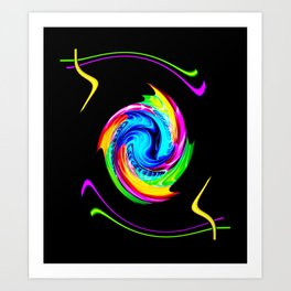 Abstract perfection -100 Art Print