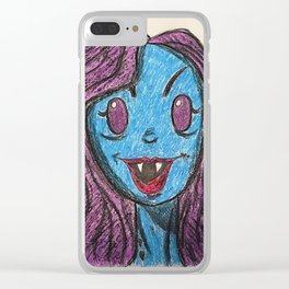 Marceline the Vampire Queen Clear iPhone Case
