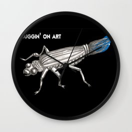 Buggin on Art Wall Clock