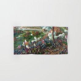 Battle of Missionary Ridge -- Civil War Hand & Bath Towel