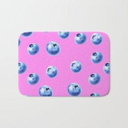 blueberry pink Bath Mat