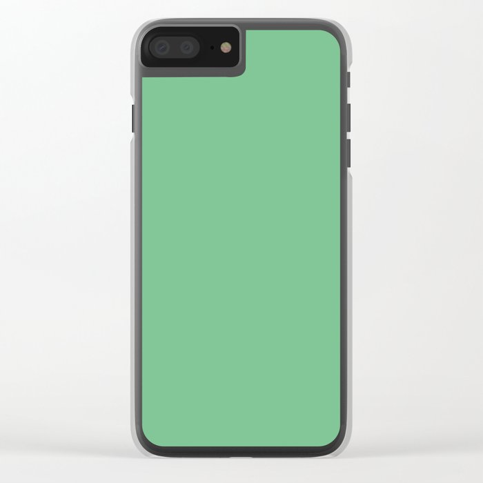 Island Green Clear iPhone Case