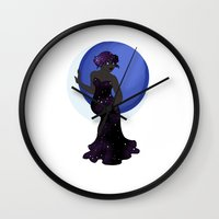 celestial Wall Clocks featuring Celestial by Spacekase