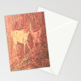 Abstract Sugar and Buford by Robert S. Lee Stationery Cards