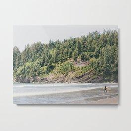 West Coast Surfer Metal Print