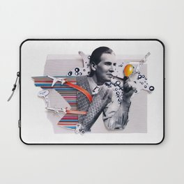 Hot Air   Collage Laptop Sleeve