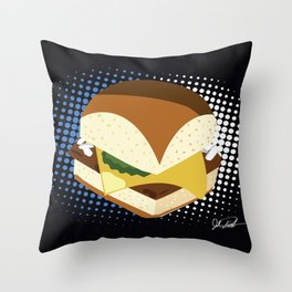 Bite Size Throw Pillow