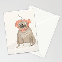 Pugicorn Stationery Cards