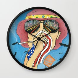 Fear and Ether Wall Clock