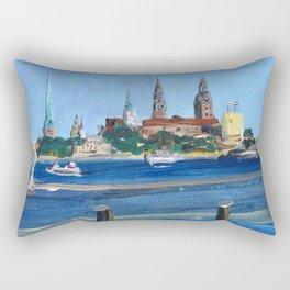 Pearl of the Baltics Rectangular Pillow
