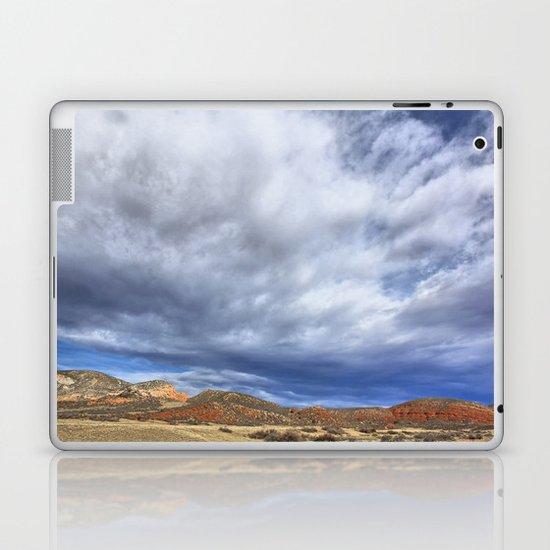 Red Mountain Open Space Laptop & iPad Skin