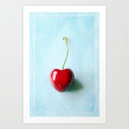 My Heart On a String  Art Print