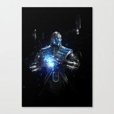 Sub-Zero Canvas Print