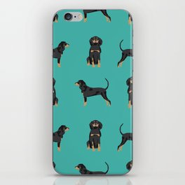 Coonhound simple cute dog breed gifts for coonhounds iPhone Skin