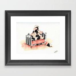 Pile High Framed Art Print