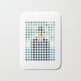 Rene Magritte Remixed Bath Mat