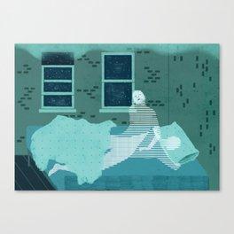 Sleepwalk Canvas Print