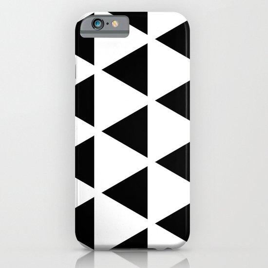 Sleyer Black on White Pattern iPhone & iPod Case