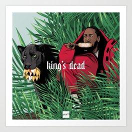 King's dead Art Print