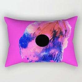 PNK N BLCK Rectangular Pillow