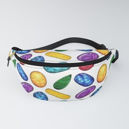 Colorful Minerals Pattern Fanny Pack