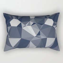 gray cube pattern Rectangular Pillow