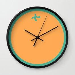 'Orange' Wall Clock
