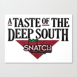 A Taste of the Deep South Canvas Print
