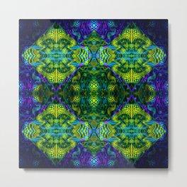 Kaleidoscope Design II Metal Print