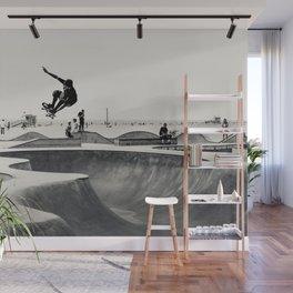 Skateboarding Print Venice Beach Skate Park LA Wall Mural