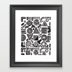 ABSTRACT 006 Framed Art Print