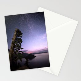 Crater Lake Glow Stationery Cards