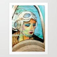 The Pilot Of Your Dreams Art Print
