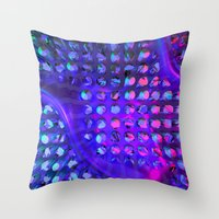 chuck Throw Pillows featuring Chuck by Rabassa