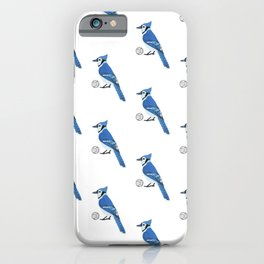 Volleyball Blue Jay iPhone Case