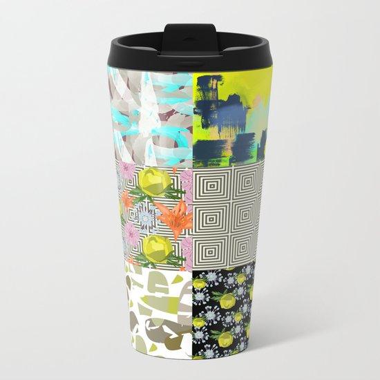 Patterns Metal Travel Mug